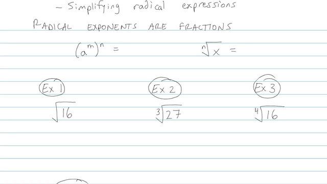 Simplifying Radical Expressions - Problem 9