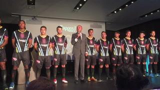 Lights FC unveil home jerseys