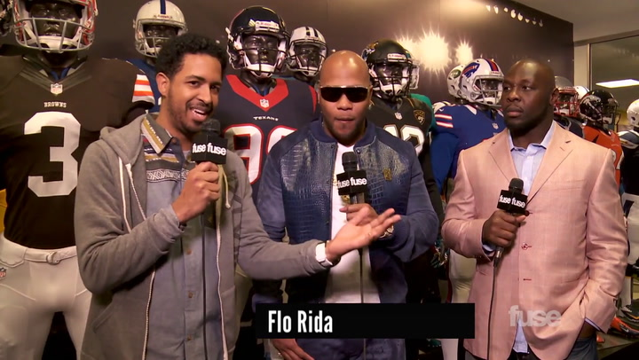 Interviews: Flo Rida & NFL Player Tamba Hali Discuss How Music & Football Intersect