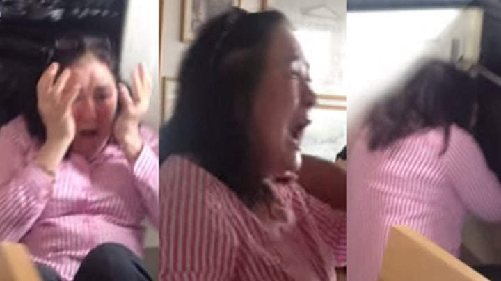 Overrasket moren etter to års reise