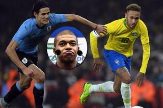 Cavani y Neymar hablan sobre su encontronazo en el Uruguay-Brasil