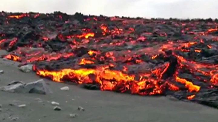 Se lavaen komme krypende