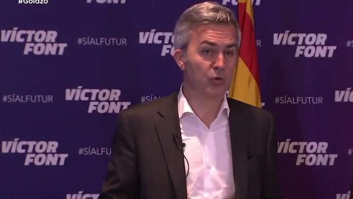 """Victor Font pidió """"respeto"""" al PSG tras las últimas palabras de Di María"""