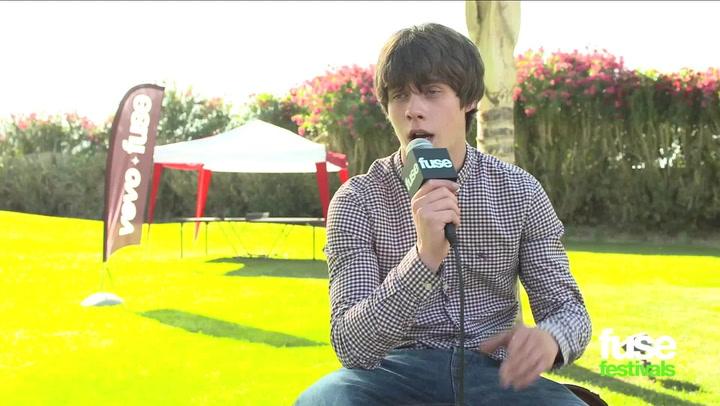 Festivals: Coachella 2013: Jake Bugg Interview