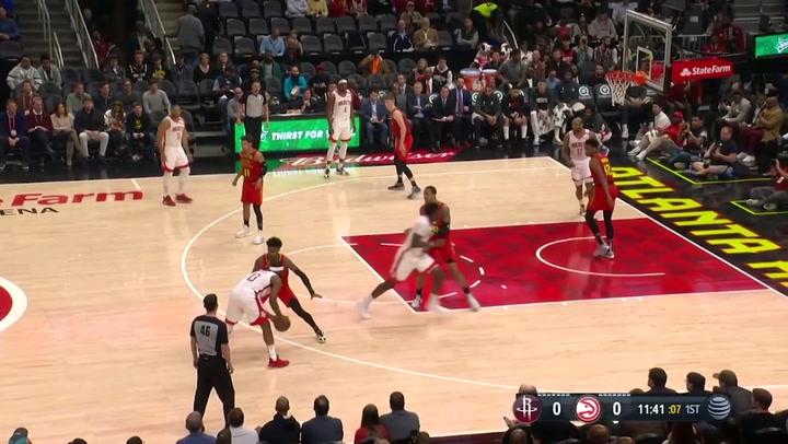 James Harden (Rockets), el más destacado de la jornada de la NBA del 8 de enero 2020