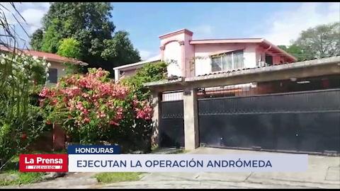 Ejecutan la Operación Andrómeda contra socios de