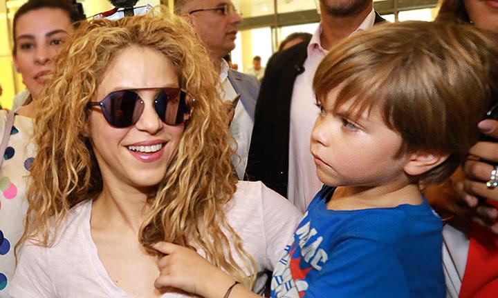 El adorable vídeo de Sasha, hijo de Shakira y Gerad Piqué, intentando hablar en árabe