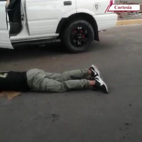 Captan en video dantesca escena de masacre en colonia El Sitio