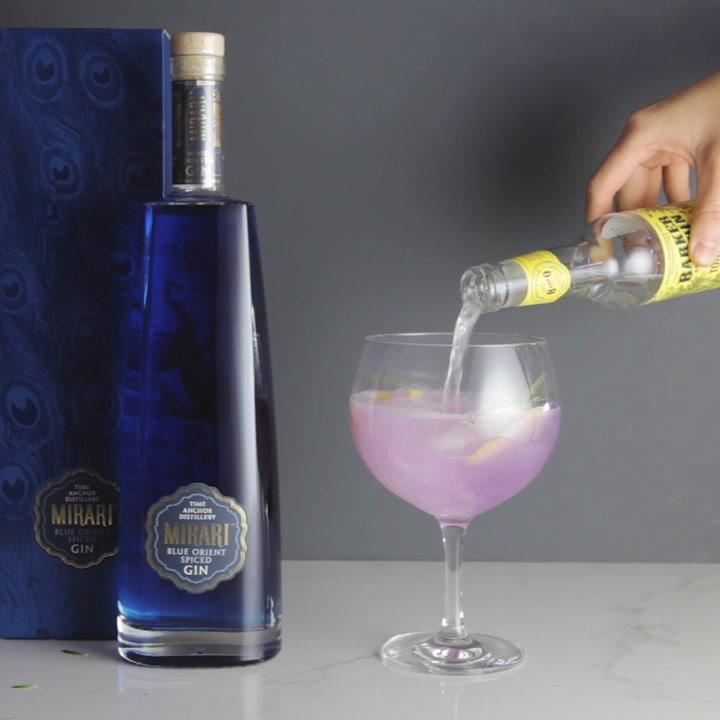 Preview image of Time Anchor Mirari Blue Gin video