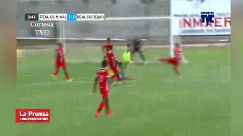 Real de Minas 2-1 Real Sociedad