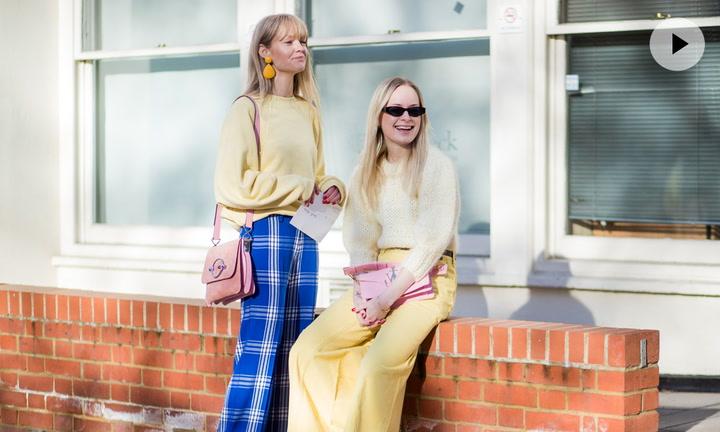 De la pasarela al Street Style: los pantalones de cintura alta que conquistan a las más estilosas