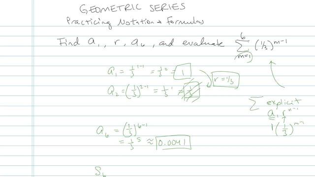 Geometric Series - Problem 14
