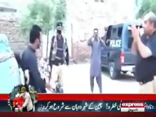 لاک ڈاؤن ، شہریوں نے پولیس افسر کو ہاتھ جوڑنے پر مجبور کر دیا