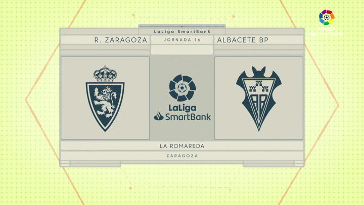 LaLiga SmartBank (J16): Resumen y gol del Zaragoza 0-1 Albacete