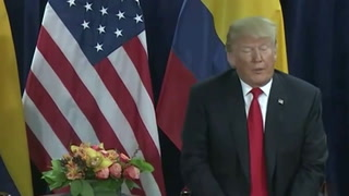 Trump dice que Maduro podría ser derrocado