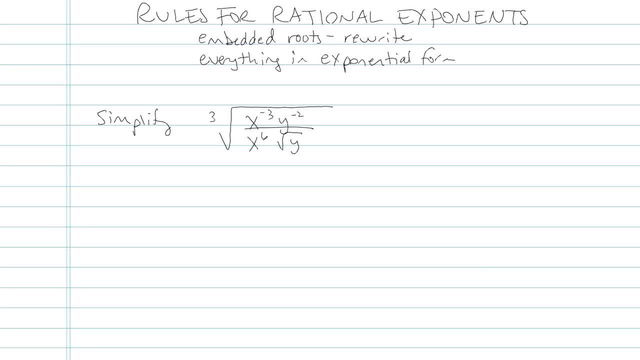 Rules for Rational Exponents - Problem 7