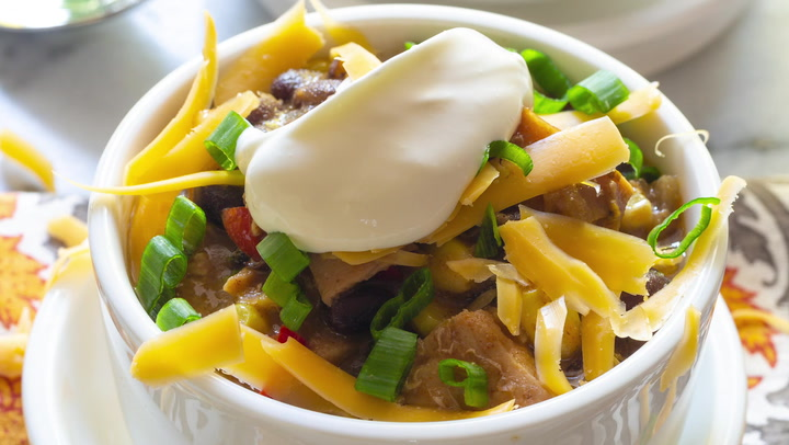 Best Turkey Chili Leftover Turkey Recipe Video A Spicy Perspective