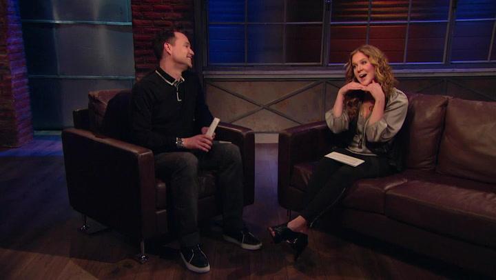 Amy Schumer's Co Hosting Gig With Mark Hoppus: #TBT