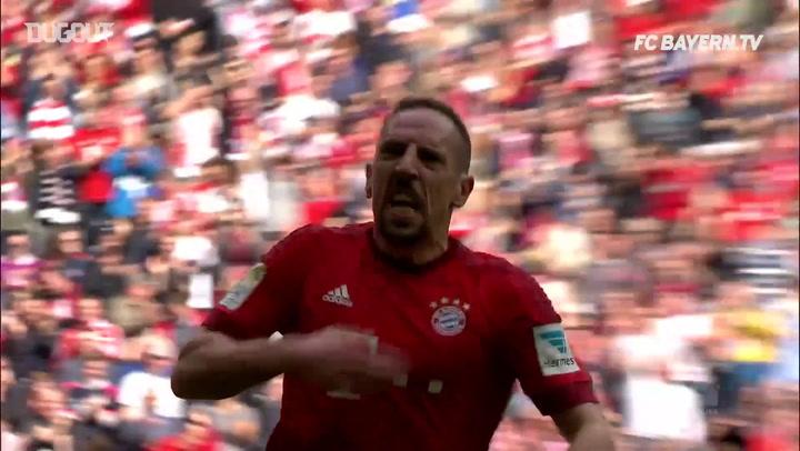 FC Bayern Münih'in Eintracht Frankfurt'a  Attığı En İyi Beş Gol
