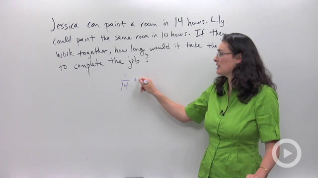 Work Word Problems - Problem 2