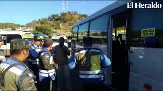 Tras tiroteo a bus rapidito, conductores exigen seguridad