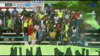 Real de Minas está goleando al Platense en el Marcelo Tinoco de Danlí
