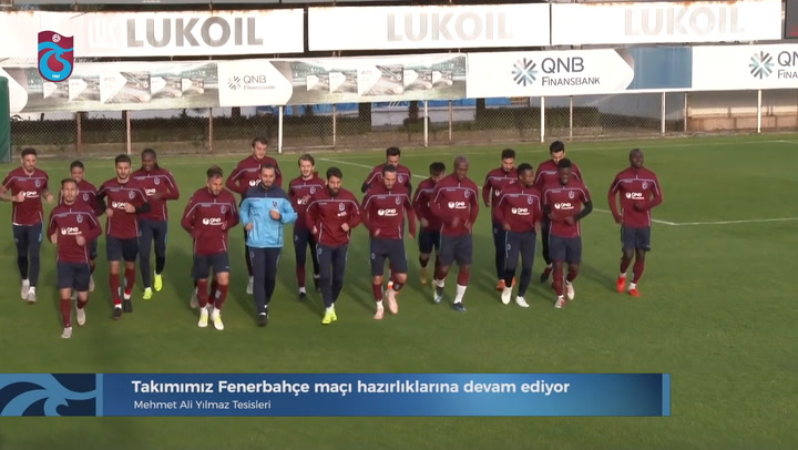 FIRST LOOK: Trabzonspor Train Ahead Of Fenerbahce Clash