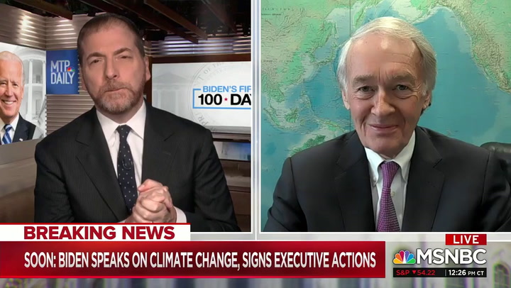 Markey: We Can 'Repeal the Filibuster' to Pass Biden's Climate Action --It's a 'Planetary Emergency'