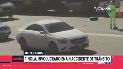 Pinola atropelló a un hombre que estaba cambiando una rueda en una autopista
