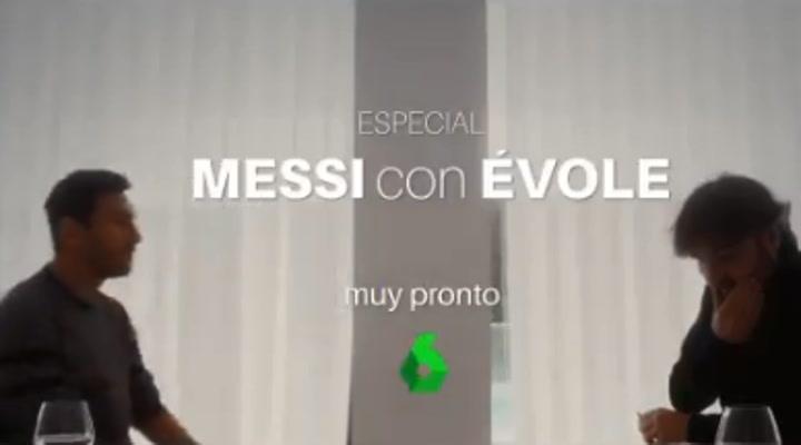 Jordi Évole anuncia una entrevista con Messi