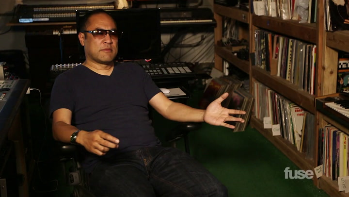 Dan the Automator's Vinyl Collection