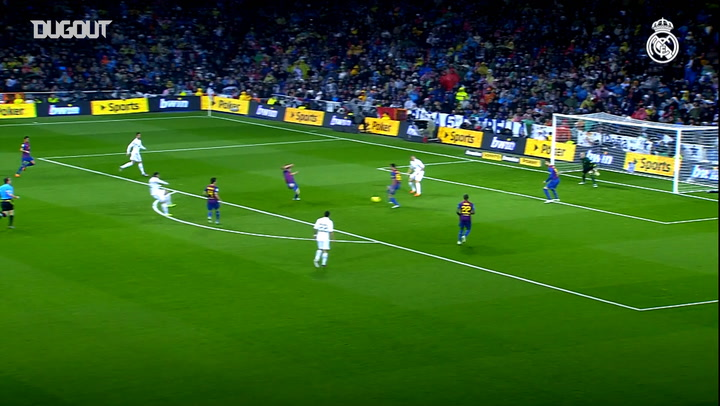 Benzema's Bernabéu Goals Vs Barcelona
