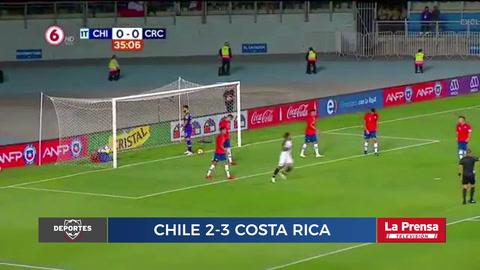 Chile 2-3 Costa Rica