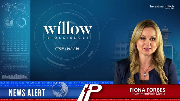 Willow Biosciences has received conditional approval to list on the Toronto Stock Exchange