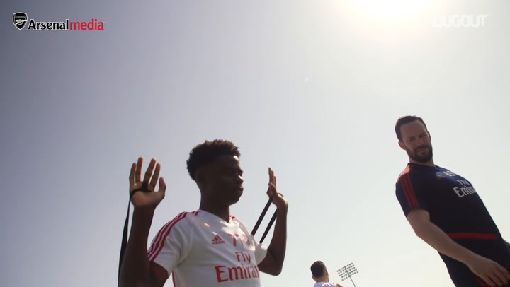 Best of day two from Arsenal's Dubai training camp
