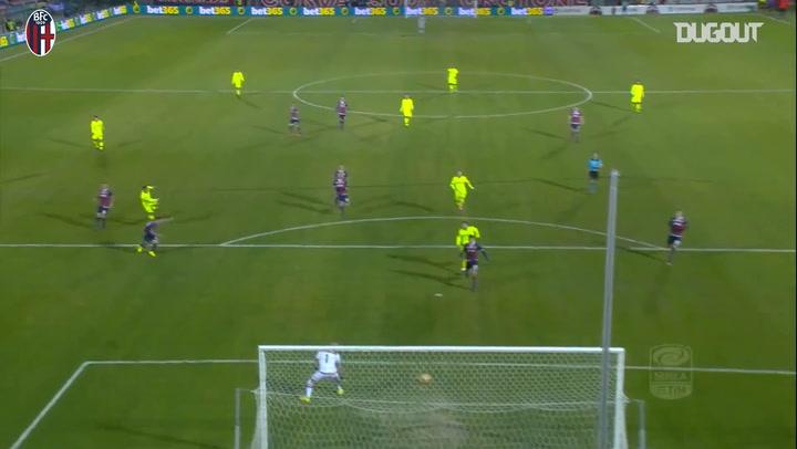 All Bologna's goals vs Crotone