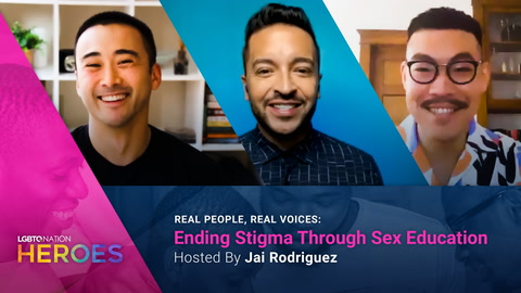 Jai Rodriguez hosts REAL PEOPLE, REAL VOICES: Ending Stigma Through Sex Education