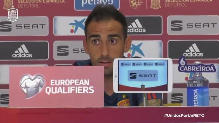 """Paco Alcácer: """"Quien no tiene minutos en su club tiene muy complicado venir"""""""