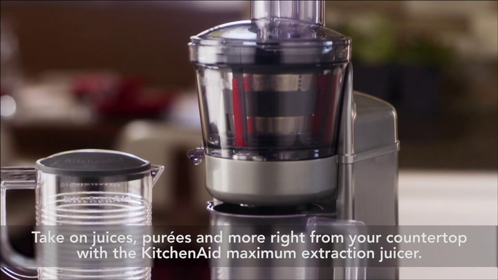 Preview image of KITCHENAID Maximum Extraction Juicer, 1 Litre video