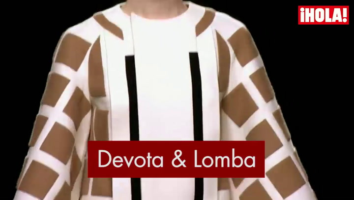 Fashion Week Madrid otoño-Invierno 2015-2016: Devota & Lomba