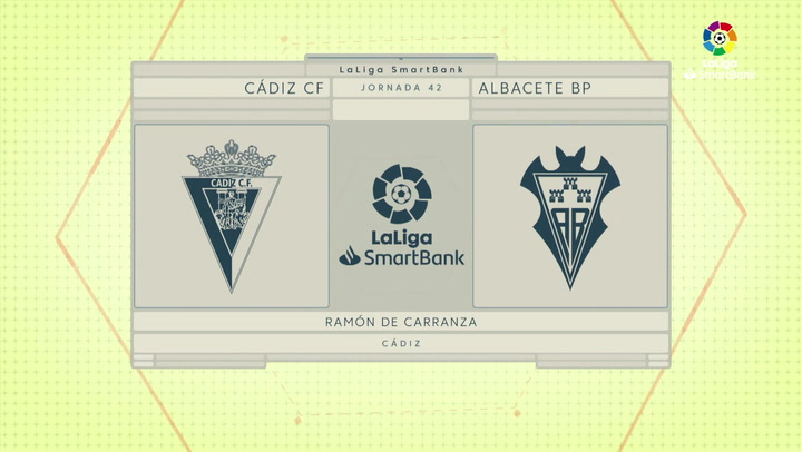 LaLiga Smartbank (Jornada 42): Cádiz 0-1 Albacete