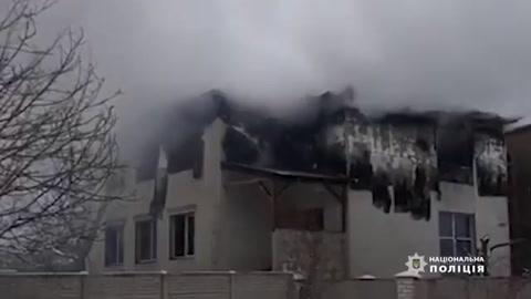 Al menos quince muertos en incendio en residencia de ancianos en Ucrania