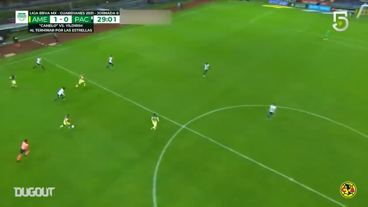 El impresionante gol de Richard Sánchez de medio campo ante Pachuca