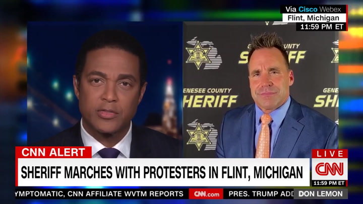 MI Sheriff: As Police, We Have to 'Start the Conversation,' 'There Should Be No Such Thing as a Bad Cop'