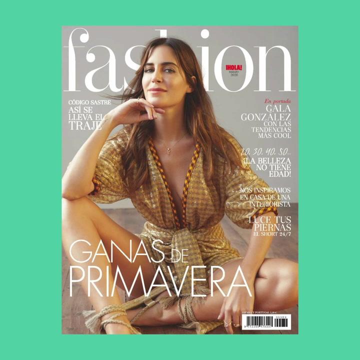Gala González, protagonista del número de marzo de FASHION
