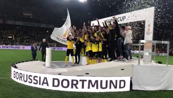 El Borussia Dortmund se hace con la Supercopa de Alemania