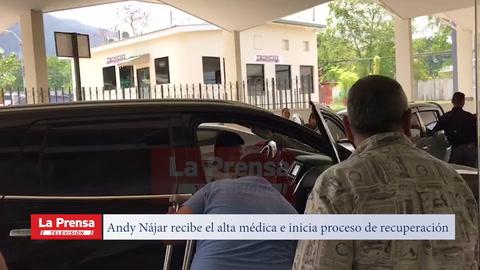 Video: Andy Nájar recibe el alta médica e inicia proceso de recuperación