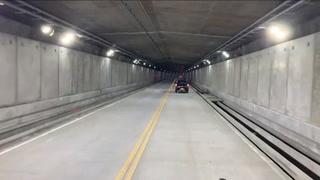 Inauguran el túnel de carretera más largo de Latinoamérica