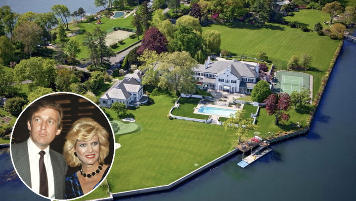 Donald and Ivana Trump's Connecticut Former Mansion Lists at $45M