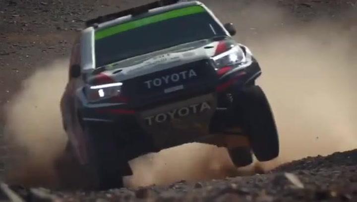 Fernando Alonso acaba cuarto en la primera etapa del Al Ula Neom Rally de Arabia Saudí